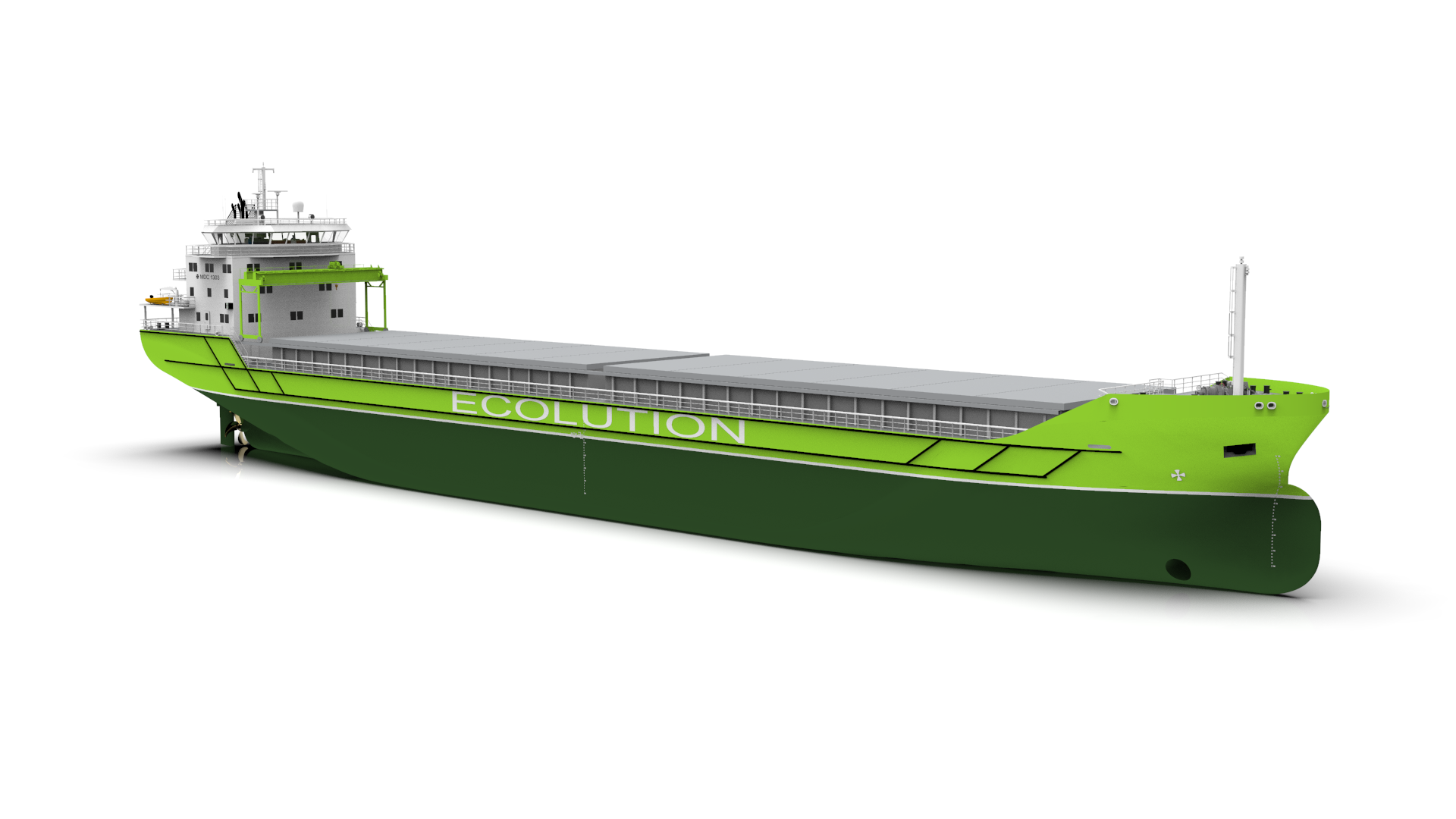MDC 1303 ECOLUTION type General Cargo Carrier, 8000 dwt - Contracted
